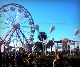 Ferris Wheel at Treasure Island Music Festival 2014 | The Girl Next Door is Black