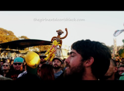 Monkey Giraffe Treasure Island Music Festival 2014 | The Girl Next Door is Black