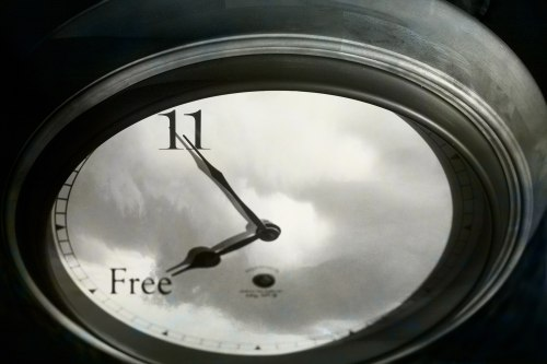 Free Time Clock Photo cr: Wes Peck | The Girl Next Door is Black