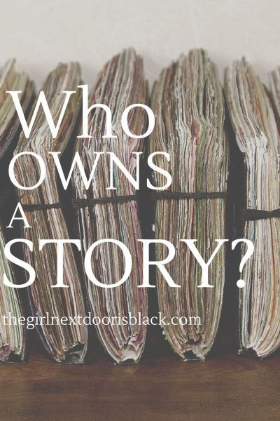 I share a lot about my personal life on my blog. I share a lot of stories. There are many stories I don't share though. Stories I don't share because they may cast an unflattering shadow on a person I care about...Read more from 'Who Owns A Story?' on The Girl Next Door is Black | Journals, Moleskin Photo cr: Barry Silver, flickr.com | Writing, Blogging