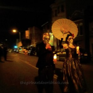 Dia de los Muertos Couple San Francisco | The Girl Next Door is Black
