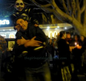 Father and Son at Dia de los Muertos San Francisco 2014 | The Girl Next Door is Black