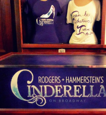 Cinderella on Broadway Shop Tees | The Girl Next Door is Black