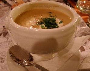 Parsnip Potato Leek Soup Spiseloppen | The Girl Next Door is Black