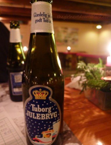 Tuborg Julebryg Beer Copenhagen | The Girl Next Door is Black