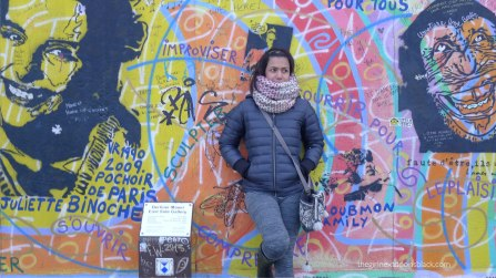 Friend at Berlin Wall
