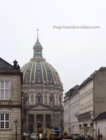 Frederick's Church Copenhagen, Denmark | The Girl Next Door is Black