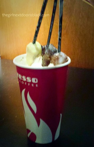 Baresso Hot Chocolate Copenhagen Denmark   The Girl Next Door is Black