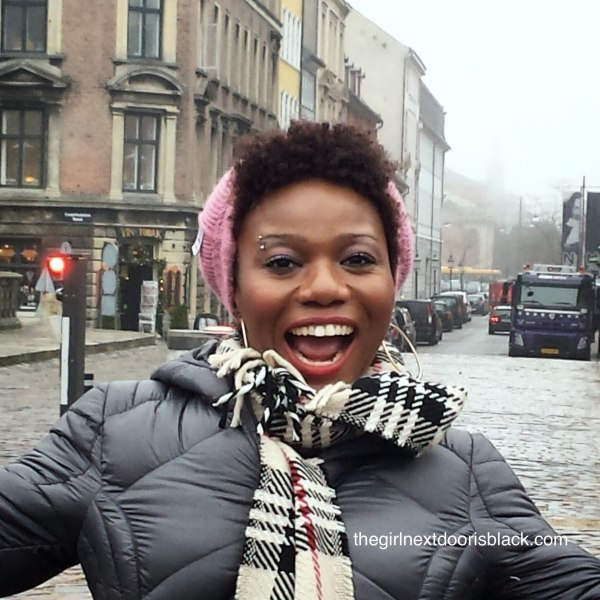 Black girl in Copenhagen | The Girl Next Door is Black