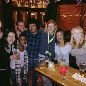 New Group of Friends at Saloon Bar Copenhagen, Denmark | The Girl Next Door is Black