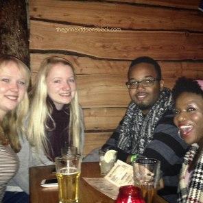 New International Friends | The Girl Next Door is Black