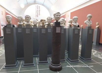 Series of busts Carlsberg Glyptotek   The Girl Next Door is Black