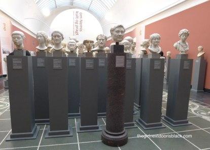Series of busts Carlsberg Glyptotek | The Girl Next Door is Black