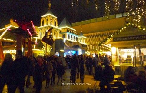 Tivoli at Christmas Copenhagen