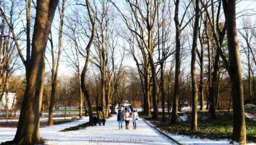 Łazienki Park Warsaw | The Girl Next Door is Black