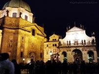 Church of Saint Francis at Night Prague | The Girl Next Door is Black