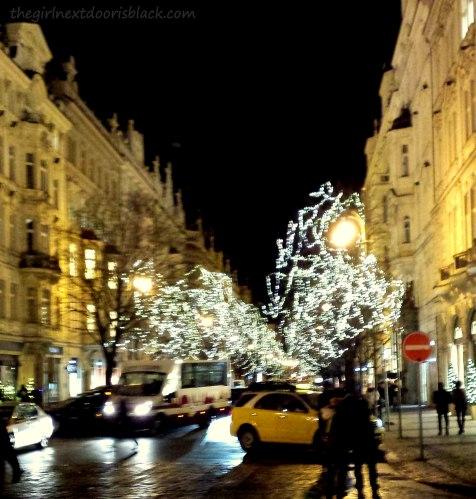 Prague at Night | The Girl Next Door is Black
