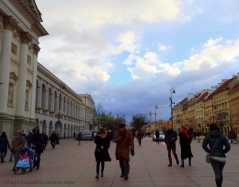 Old Town Market Place Warsaw Poland | The Girl Next Door is Black