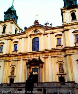 Holy Cross Church Warsaw   The Girl Next Door is Black