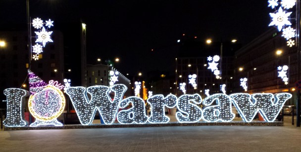 I Heart Warsaw Lights | The Girl Next Door is Black