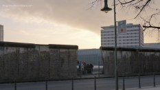 Remains of Berlin Wall Luftwaffe HQ