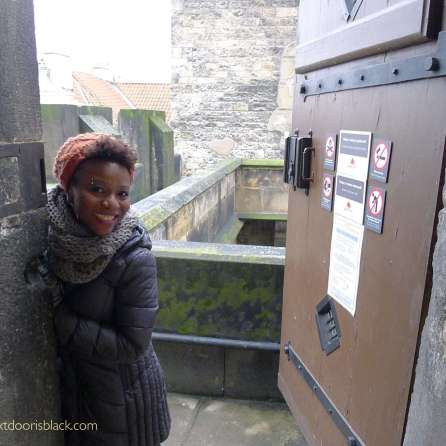 Keisha in Lessor Town Bridge Tower | The Girl Next Door is Black