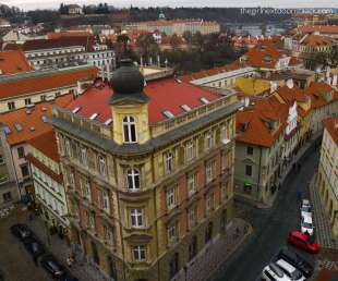 Holešovice Prague from Above | The Girl Next Door is Black