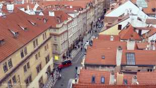 Lessor Town from Above Prague | The Girl Next Door is Black