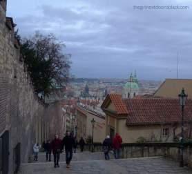 Near Prague Castle Hradčany   The Girl Next Door is Black