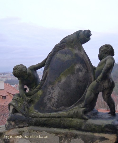 Statue near Prague Castle