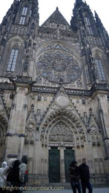 St. Vitus Cathedral Prague | The Girl Next Door is Black