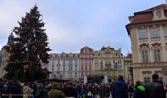 Old Town Square Prague Christmas   The Girl Next Door is Black