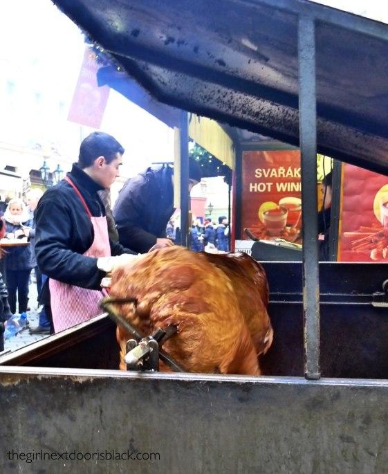Pig Roast in Prague | The Girl Next Door is Black