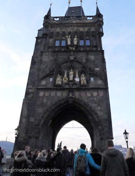 Old Town Bridge Tower Prague | The Girl Next Door is Black