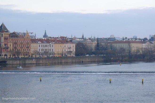 View from Charles Bridge Prague | The Girl Next Door is Black