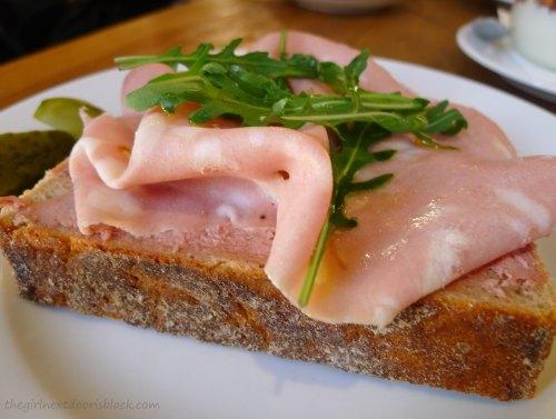 Open-Faced Italian Sandwich Być Może Warsaw | The Girl Next Door is Black