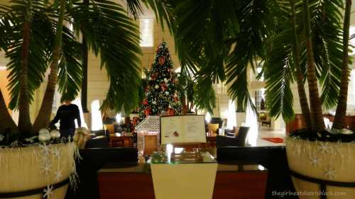 Polonia Palace Lobby at Christmastime Warsaw | The Girl Next Door is Black
