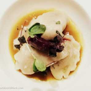 Ravioli at Strauss Warsaw | The Girl Next Door is Black