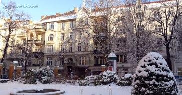 Across from Literaturhaus Berlin