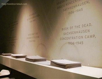 Book of the dead Sachsenhausen
