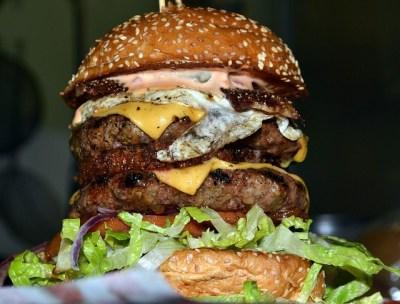 "Giant Burger ""The Big Sloppy"" photo by spilltojill, Flickr.com | The Girl Next Door is Black"
