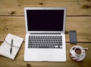 Laptop Working Desk - Writer's Block - The Girl Next Door is Black
