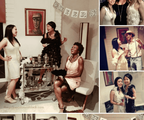 20s Style Bachelorette Celebration | The Girl Next Door is Black