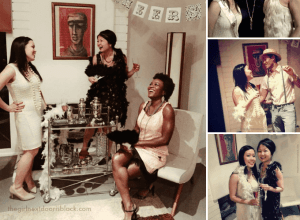 20s Style Bachelorette Celebration | The Girl Next Door is Black