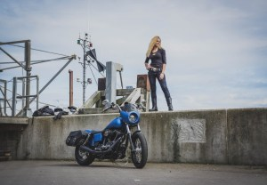The Girl On A Bike Harely Davidson StreetBobo DYNA VANESSA 2