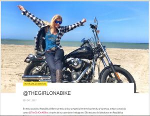 The Girl On A Bike Republica Ride Media