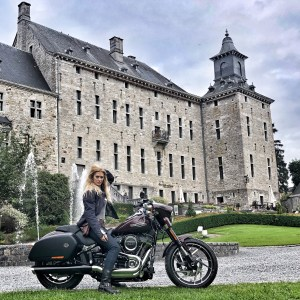 The Girl On A Bike Tour1 2018 Sport glide Motorcycle Harley Davidson 1