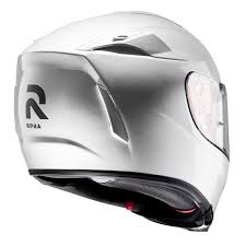 The Girl On A Bike HJC RPHA 70 motorbike full face helmet white back