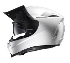 The Girl On A Bike HJC RPHA 70 motorbike full face helmet white sunshield sunglasses