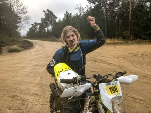 the girl on a bike BEC round1 british enduro champhionship vanessa ruck 1 scaled